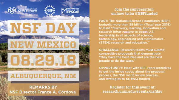 NSF Day New Mexico - NEW MEXICO CONSORTIUM